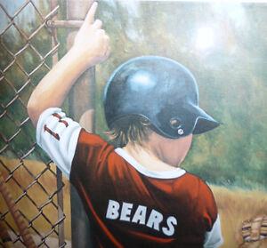 """Richard Hayman """"Baby Bears"""" 1986 Signed and Numbered (122/300) Stratford Kitchener Area image 7"""