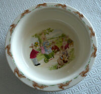 NEW Rare Royal Doulton Bunnykins Bowl 1988