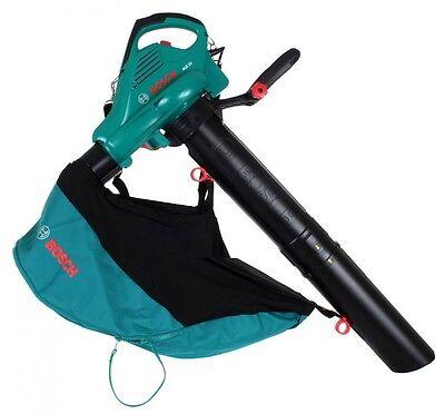 Bosch ALS 25 Elektro Laubsauger Laubbläser mit Fangsack und Schultergurt
