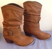 Size 7 leather BOOTS