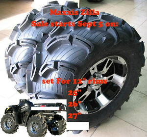 """Maxxis Zilla Canada 26"""" ATV TIRE RACK - LOWEST PRICES"""