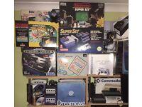 WANTED: retrogaming items - inc. Atari, Vectrex, Microvision, N64, NES, SNES, Gameboys .