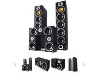 BENG V9B 5 channel home cinema speakers