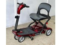 Pride Quest Folding travel Mobility Scooter