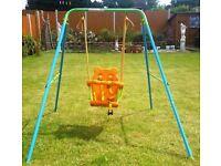Swing for Baby n Toddler: folding, portable, fun