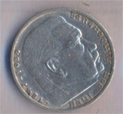 Deutsches Reich Jägernr: 360 1935 A sehr schön Silber 1935 5 Reichsm (9157823