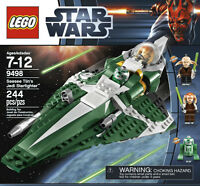 RETIRED: NIB Lego Star 9498 Wars Saesee Tiin's Jedi Starfighter