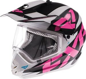 FXR torque x heated shield helmet M
