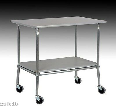 High Quality Utility Cart With 32 X 22 Plastic Laminate Top - Made In The Usa