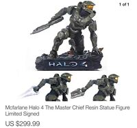 Halo 4 The Master Chief Limited Edition Resin Statue w Signature