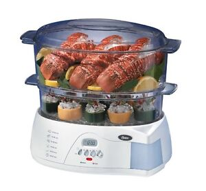 Oster 2 tier food steamer *New Never Used*