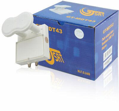 OUTLET LNB de salida doble Astra diseñado para la recepción dual de...