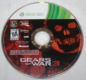 Gears-of-War-3-Xbox-360-2011-PERFECT-UNUSED-GENUINE-DVD-CD-ONLY