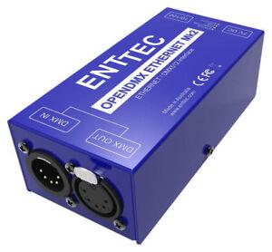 ENTTEC ODE 70405 Open ArtNet DMX Ethernet MK2 RDM Lighting Controller (Open Box)