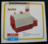 HO BACHMANN PLASTICVILLE BUILDING ITEM# 2602 BARN MIB UNUSED