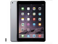 IPAD AIR 128GB CELLULAR (SIMCARD+UNLOCKED TO ALL NETWORK )+ WIFI SPACE GREY, WITH SMART COVER