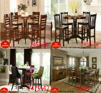 today deals, dinettes, dining room tables, chairs, chaise, hatch