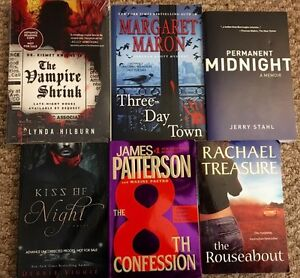 Various books, various authors - $5 each