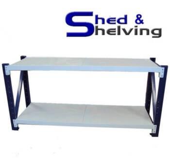 Steel Workbench Handyman Garage Storage 2 sizes from