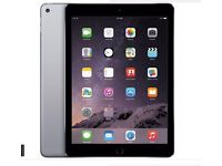 IPAD AIR 128GB CELLULAR + WIFI UNLOCKED TO ALL NETWORKS, SPACE GREY,SMART COVER