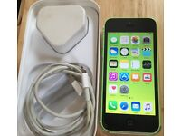 Green iPhone 5c on EE network