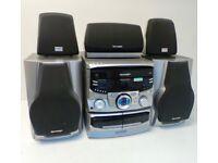 Sharp 3 CD 5 speaker midi system