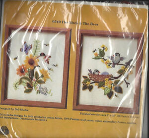 The Birds and the Bees Crewel kit
