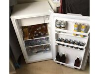 Fridgemaster Freestanding fridge with ice box
