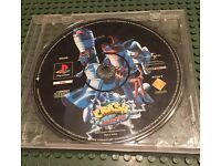 PlayStation 1 crash bandicoot game, ps1 console game