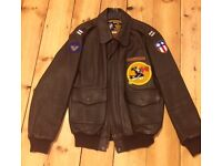 A2 Leather Flight Jacket 36 Chest