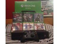 £160 ono Xbox on with 6 games in box