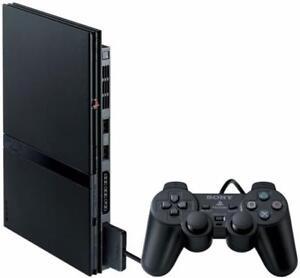 Sony Playstation 2 Slim Noire + Carte Mémoire + Manette (i018568)