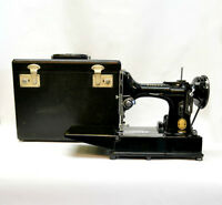 Singer Free Arm Feather Weight Sewing Machine at Heirlooms