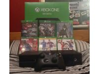 £150 Xbox one with 6 games in box