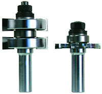 """"""" BRAND NEW  """" FRUED TONGUE $ GROOVE ROUTER BIT SET"""