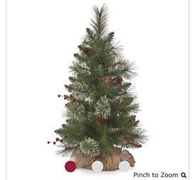 2ft tall Christmas tree