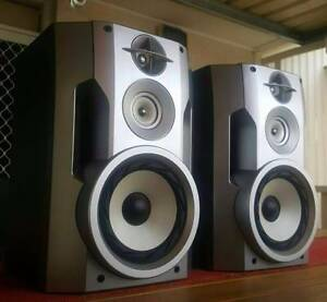 SONY 3 WAY/ MUSIC SURROUND SOUND SPEAKERS/8 OHM Dandenong North Greater Dandenong Preview