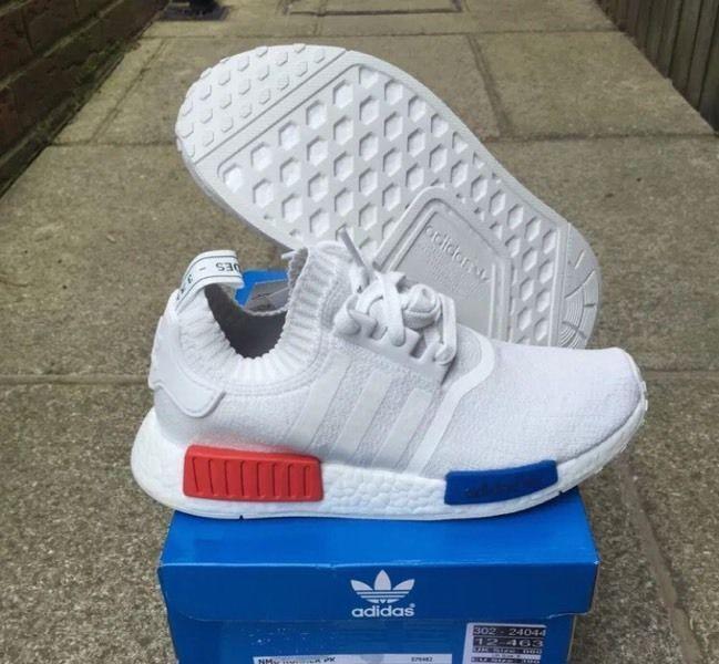Adidas Nmd Og White Primeknit