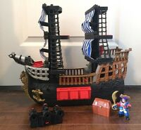 Fisher-Price Imaginext Black and Red Pirate Ship. $20.00.