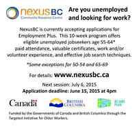 10-Week Employment Program |  Application Deadline June 15