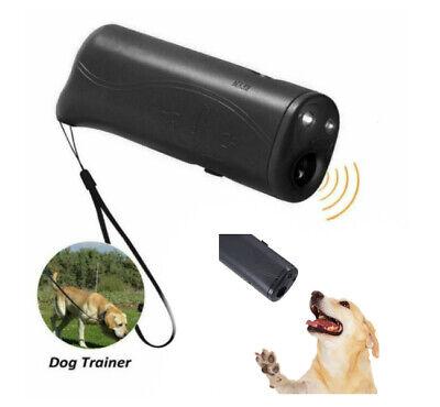 Repelente Ahuyentador Ultrasonidos de Perros Adiestramiento Control Anti Barking