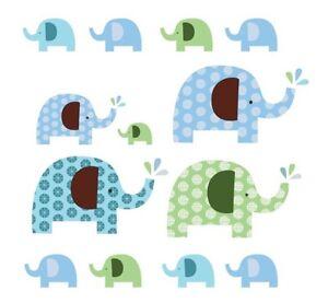 Skip Hop elephant parade wall decal - new!