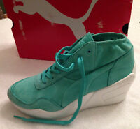 PUMA Trinomic Wedge Sneakers size 9.5