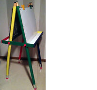 Child's Easel whiteboard/chalkboard