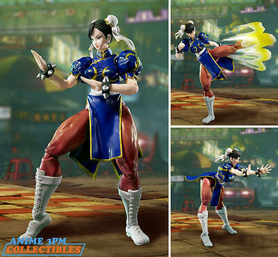 Bandai S.H. Figuarts - Street Fighter V - Chun Li Action Figure AUTHENTIC!!!