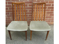 Pair of Vintage G-Plan Chairs (one for £30)