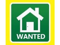 1 or 2 Bedroom Flat Wanted (DSS £375 MAX)
