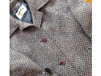Pure new wool maxi-length coat (size14)