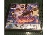 PlayStation 1 boxed game with manual, ps1 retro