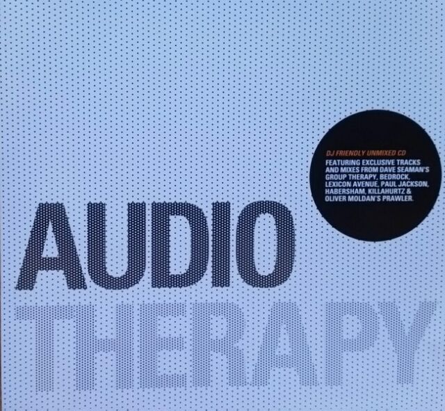"""Various Artists """"Audio Therapy - Spring/Summer Edition 2006""""  * ATCD3 / unmixed"""